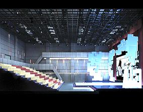 3D model Auditorium room 001