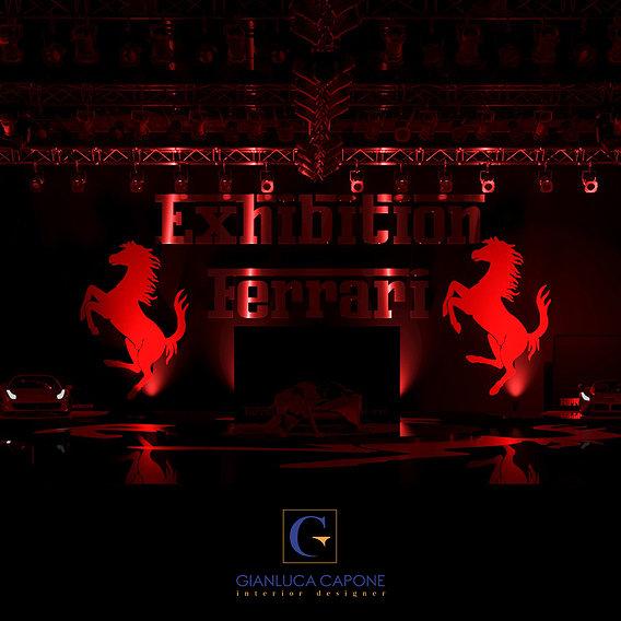 Showroom Ferrari