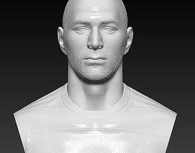 Karim Benzema Real Madrid bust - 3D sculpture handmade