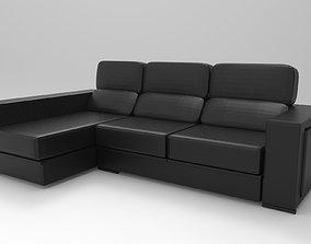 3D printable model Big Sofa Chaise Lounge
