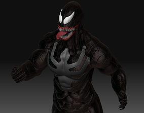 venom 3D model VR / AR ready