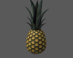 3D model game-ready Pineapple