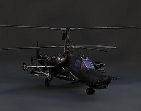 Kamov KA-50 Black Shark 3D asset