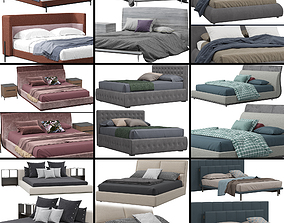 casa Beds collection 2 3D model