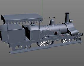 Toy Train Fairy queen 3D model