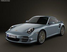 3D Porsche 911 Turbo S Coupe 2011