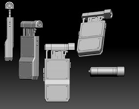 voightkampff BLADE RUNNER 2049 Retinal eye scanner model