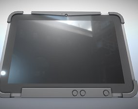 Robust Tablet PC Low-Poly Version 3D asset