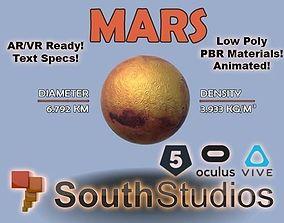 Animated Mars AR VR Unity 3dsmax animated