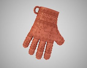 3D printable model Christmas Gloves