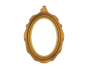 3d printable mirror frame model cncrelief