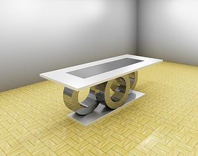 Dining table 3D printable model