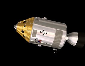 Apollo Command and Service Module 3D