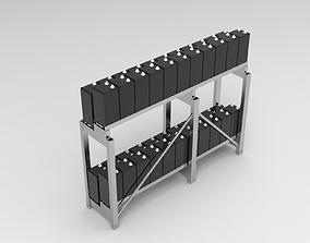 Battery Rack 3D