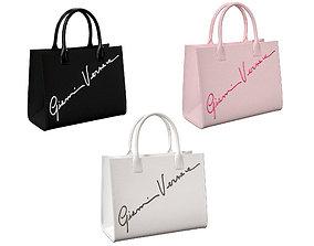 3D model Versace Cabas GV Signature Tote Bag
