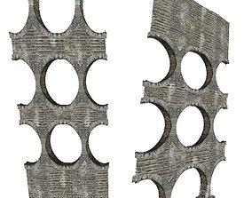 3D asset Gatehouse 01 Aqueduct Pillar 02