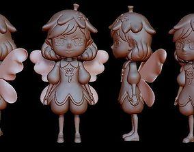fairy violet 3d modeling 3D model