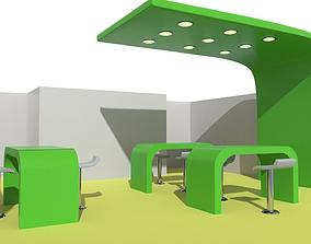 3D model Booth B