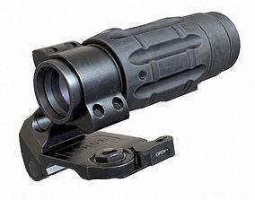 3X Magnifier 3D asset