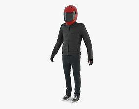 3D Urban Motorcycle Rider