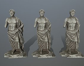 statue old 3D model realtime