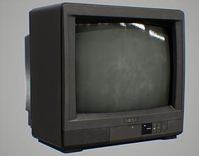 3D model 90s TV