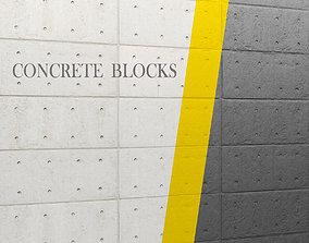3D model concrete panel