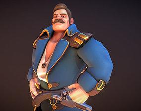 3D model Seafarer The Captain