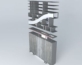 3D Library railings tabary