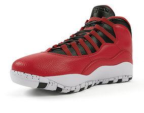 3D Air Jordan 10 Retro Nike