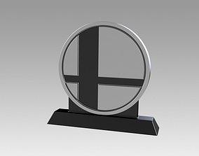 Smash Coin Trophy 3D print model