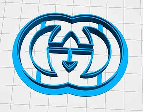 cookie cutter gucci 3D print model