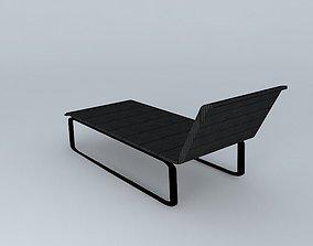Lounger Marina Tidelli 3D model