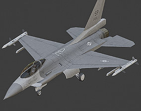 3D model F16 Falcon