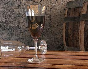 3D model Wine scene