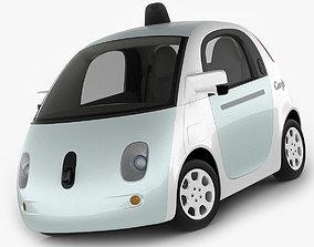 Google Self-Driving Car 3D