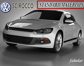 Scirocco standard mat 3D model