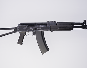 AK 102 Cal 5 56x45 3D asset