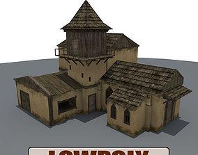 3D model Old Farm Building1