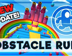 3D asset Obstacle Run