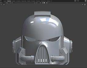 Warhammer 40000 Astartes MK7 helmet 3D print model