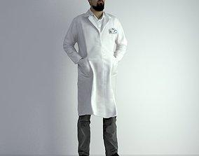 3D Scan Man Scientist 024