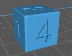 3D model Dice 6 faces