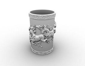 Brush pot 3D print model