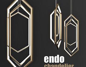 3D model Studio endo chandelier