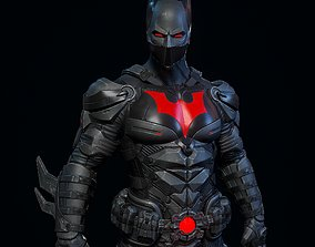 3D Batman beyond fan art