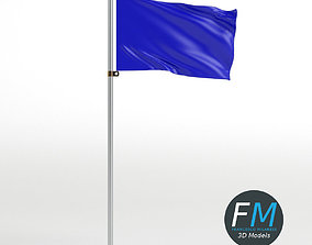 3D model PBR Flag 1