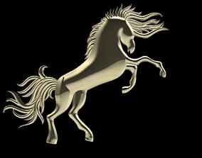Horse knight 3D print model