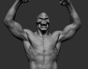 Skeletor Body Printable