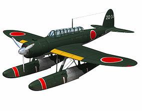 Aichi E13A Jake 3D model